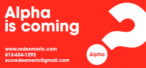 ALPHA is coming soon
